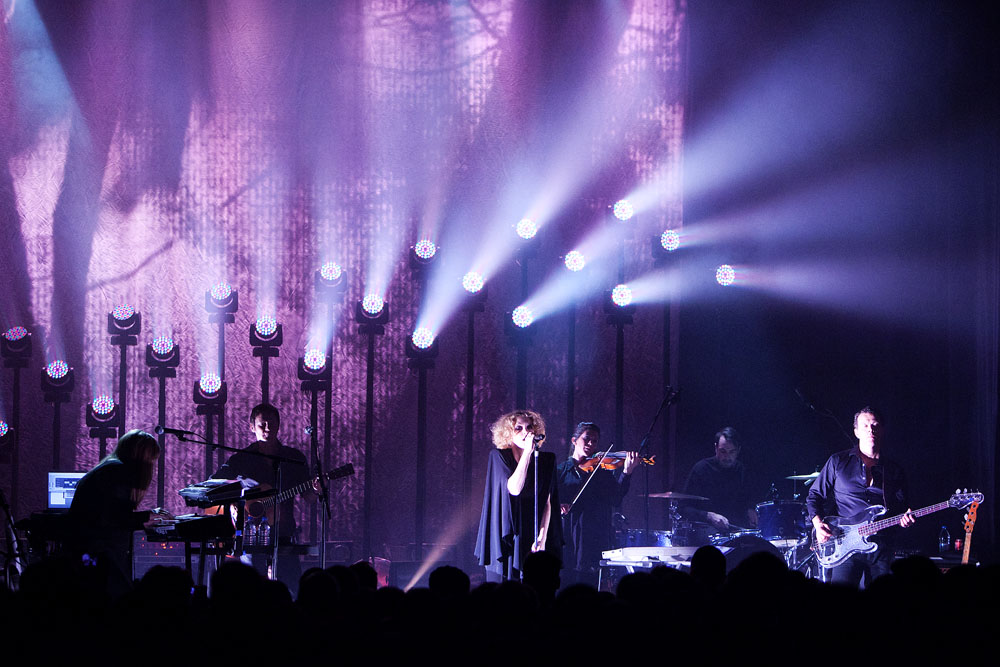 Goldfrapp in Berlin @Heimathafen concert photo