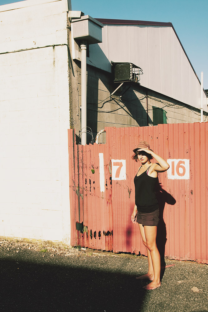 Portrait photography of Rike in Rotorua (New Zealand)
