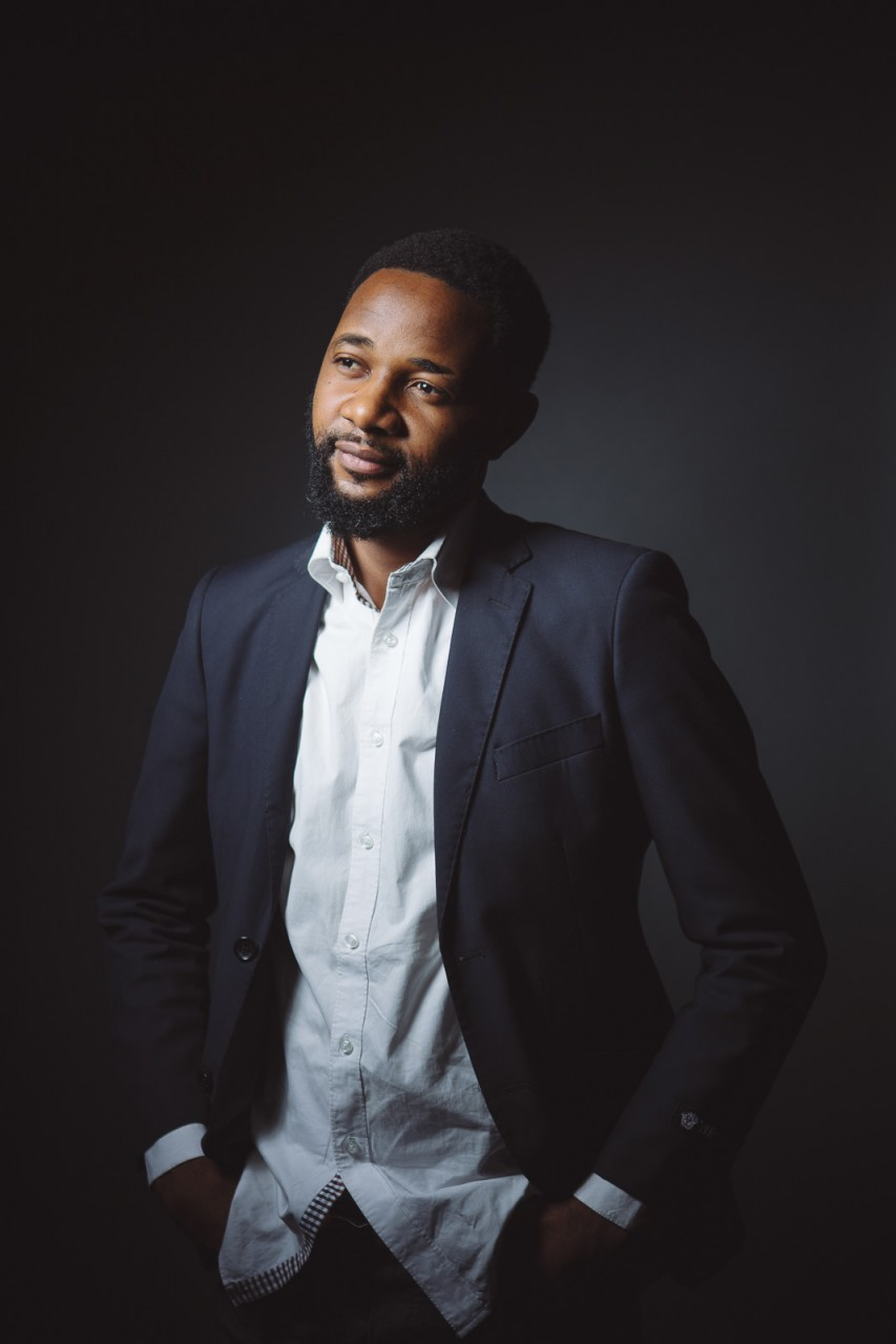 """Tshoper Kabambi (producer, director):  """"To create something with my skills is my happiness""""."""